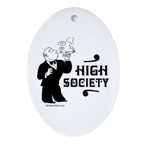 High Society - Oval Ornament