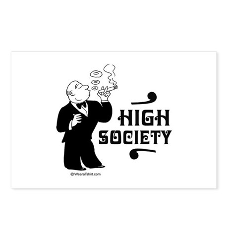 High Society - Postcards (Package of 8)