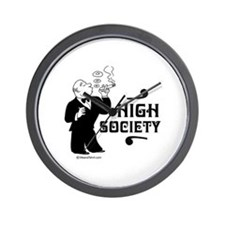 High Society -  Wall Clock