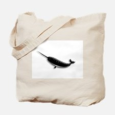 Narwhal Whale Tote Bag