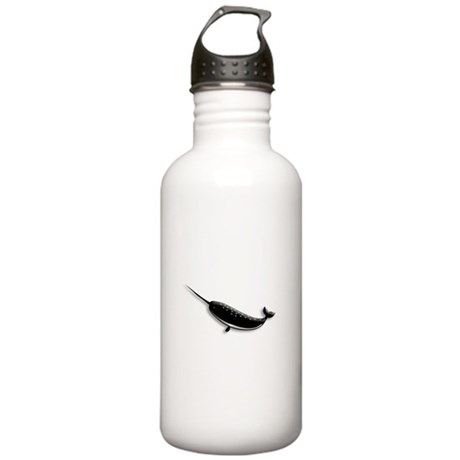 Narwhal Whale Stainless Water Bottle 1.0L