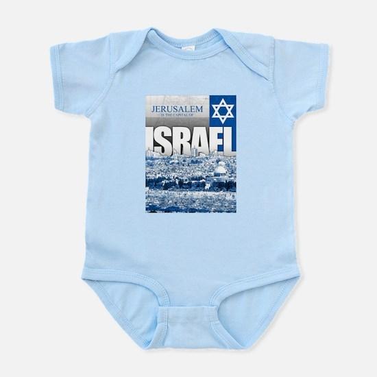 Jerusalem, Israel Infant Bodysuit