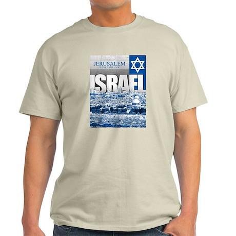 Jerusalem, Israel Light T-Shirt