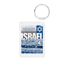 Jerusalem, Israel Keychains