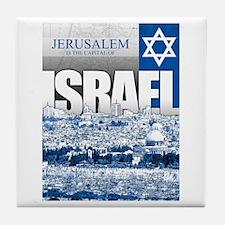 Jerusalem, Israel Tile Coaster