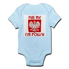 Kiss me, I'm Polish -  Infant Creeper