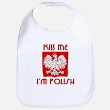 Kiss me, I'm Polish -  Bib