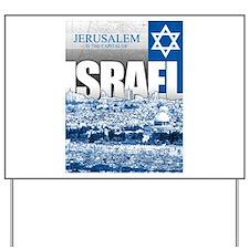 Jerusalem, Israel Yard Sign