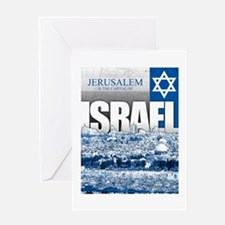 Jerusalem, Israel Greeting Card
