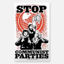 Stop Communist Parties Decal