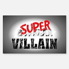 Villain... Sticker (Rectangle)
