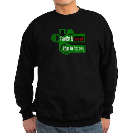 Burn Out/Fade Away-Neil Young Sweatshirt (dark)