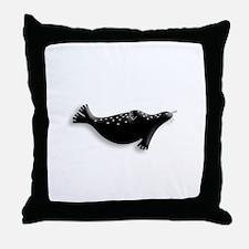 Arctic Seal Throw Pillow