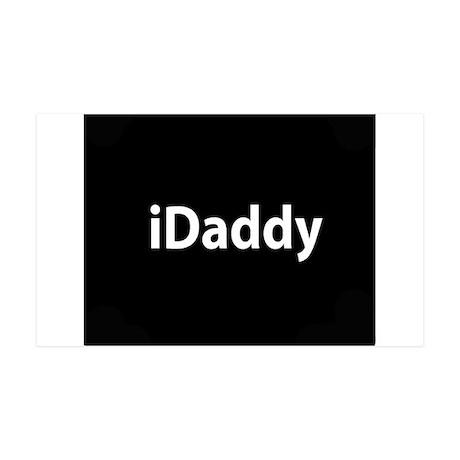 iDaddy button 35x21 Wall Decal