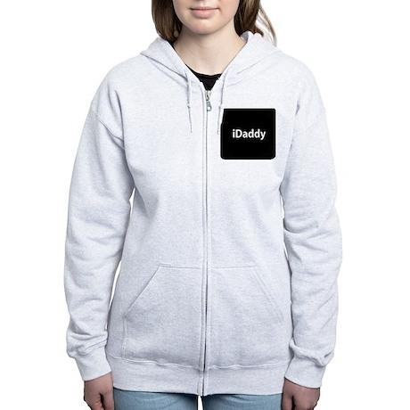 iDaddy button Women's Zip Hoodie