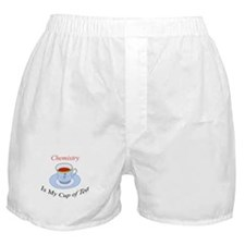 Chemistry is my cup of tea Boxer Shorts