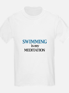 Swimming is my Meditation T-Shirt