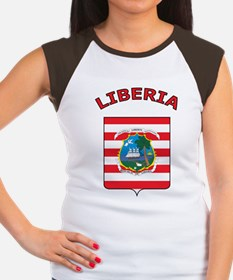 Liberia Women's Cap Sleeve T-Shirt
