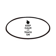 Keep calm and teach on Patches