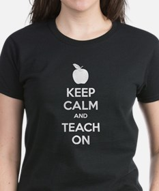 Keep calm and teach on Tee