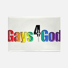 Gays4God2.0 Rectangle Magnet