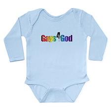 Gays4God2.0 Long Sleeve Infant Bodysuit