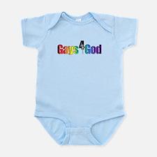 Gays4God2.0 Infant Bodysuit