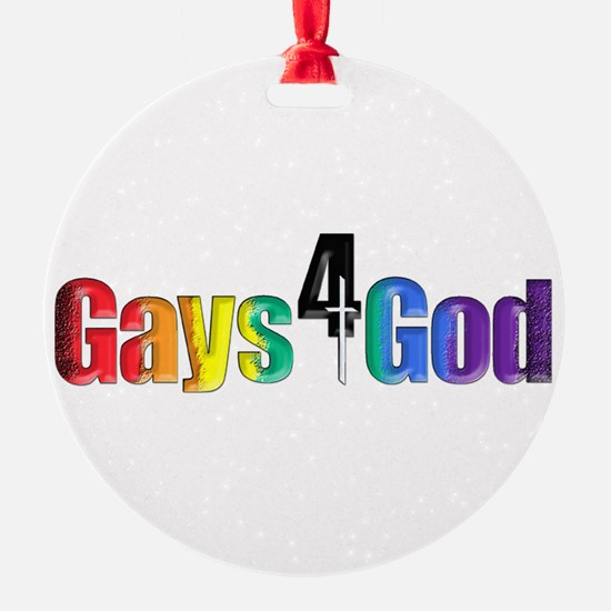Gays4God2.0 Ornament