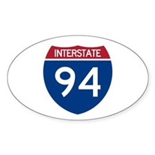 I-94 Oval Decal