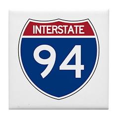 I-94 Tile Coaster