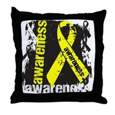 Ewing Sarcoma Awareness Throw Pillow