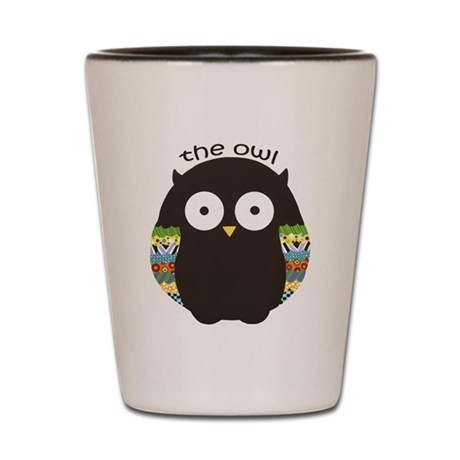 The Owl Shot Glass