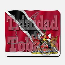 Silky Flag Trinidad & Tobago Mousepad