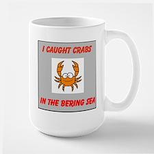 Bering Sea Crabs Large Mug