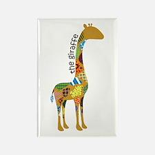 The Giraffe Rectangle Magnet