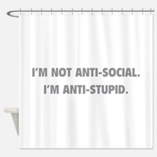 Anti-Stupid Shower Curtain