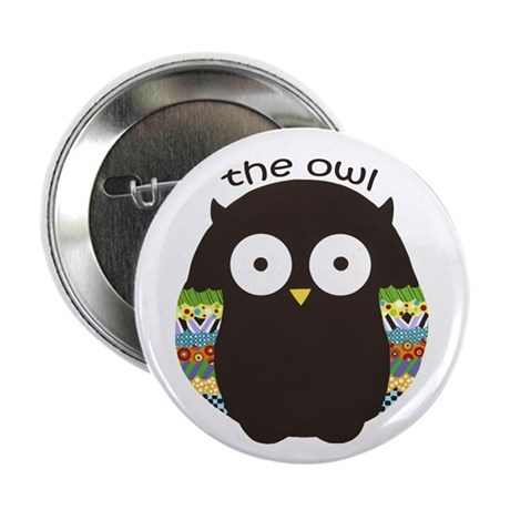 """The Owl 2.25"""" Button"""