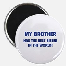 """My Brother 2.25"""" Magnet (10 pack)"""