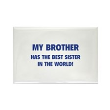My Brother Rectangle Magnet (10 pack)