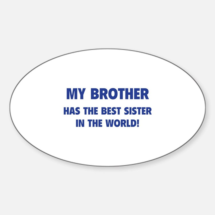 My Brother Decal