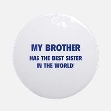 My Brother Ornament (Round)