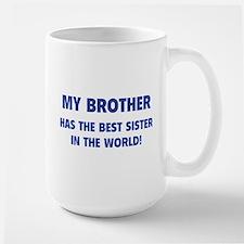 My Brother Large Mug