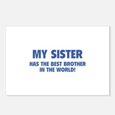 My Sister Postcards (Package of 8)