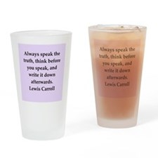 carroll1.png Drinking Glass