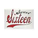 Sweet Sixteen Rectangle Magnet (10 pack)
