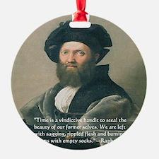 Painter Raphael Ornament
