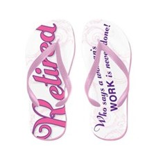 Women's Work Retired Flip Flops