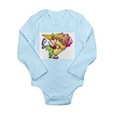 Ice Cream Long Sleeve Infant Bodysuit