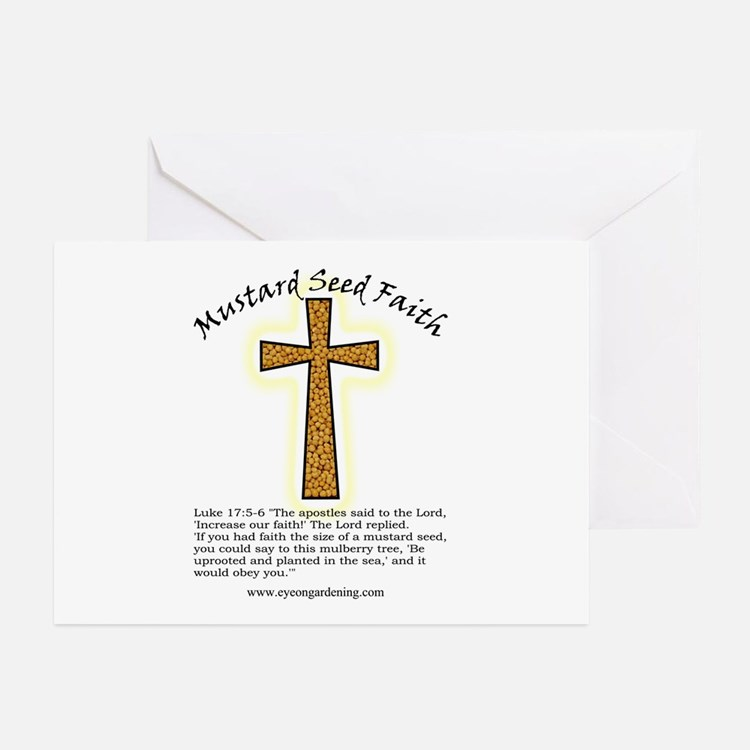 Mustard Seed Faith Greeting Cards (Pk of 10)