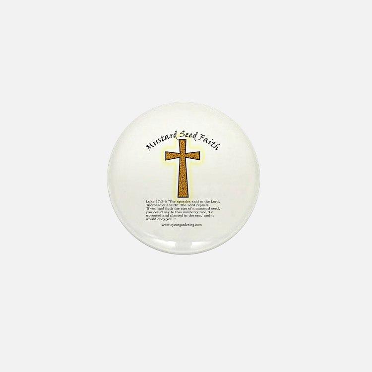 Mustard Seed Faith Mini Button
